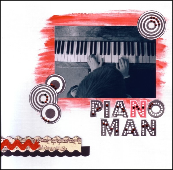 Piano Man small border